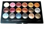 18 цвята професионална палитра сенки за очи